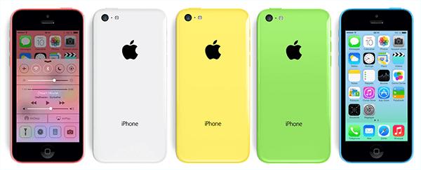 L Iphone 5c D Apple Est Disponible En Cinq Couleurs