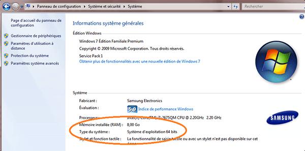 Comment avoir 64 bits sur son pc - Comment savoir si une poele est compatible induction ...